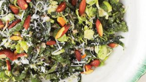 Kale and Brussel Sprouts