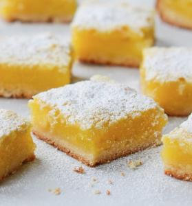 Vegan Lemon Square Recipe